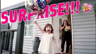 BIRTHDAY SURPRISE THAT MADE MOM CRY!!!