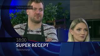 SUPER RECEPT: ŠKOLA KUHANJA - najava emisije za 26 12 2019