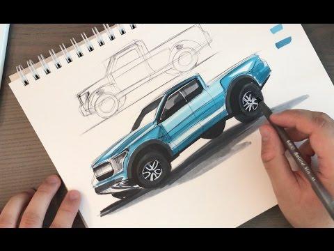 Tried to Sketch a Truck FAIL