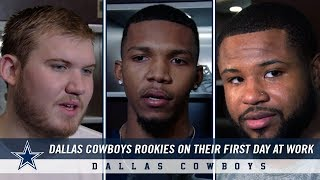 Dallas Cowboys Rookies Report: First Words from The Star in Frisco   Dallas Cowboys 2019