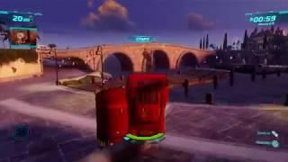 Большое и полное прохождение игры Тачки 2 без остановок (Часть 3/3)Xbox 360