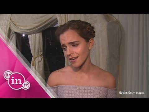 Traurig! Emma Watson sucht den einen Ring!