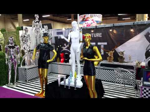 Moving Mannequins at Global Shop 2015