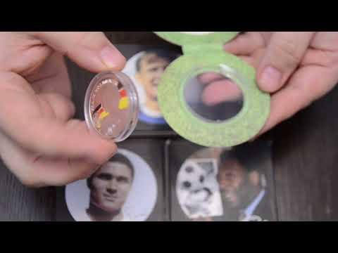 обзор монет Армении серии короли футбола
