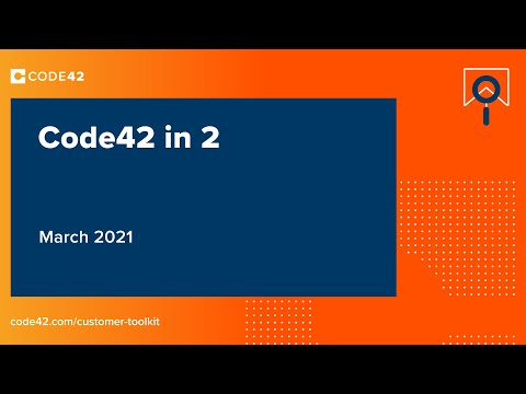 March 2021: Code42 in 2