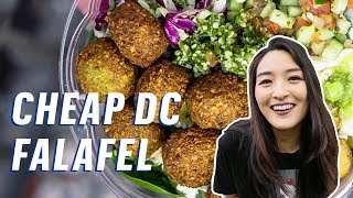 The Best Cheap Falafel in Washington, DC || 5 Buck Lunch