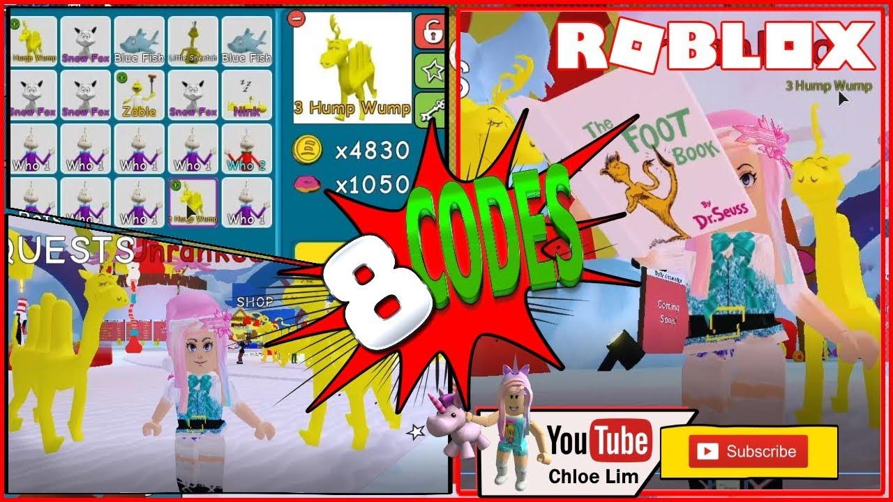 Roblox Dr Seuss Simulator Gamelog December 20 2019 Free Blog