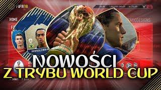 NOWOŚCI o dodatku WORLD CUP RUSSIA | FIFA 18
