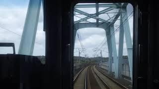 38番分岐器を行く…前面展望【アクセス特急】空港第2ビル→新鎌ヶ谷