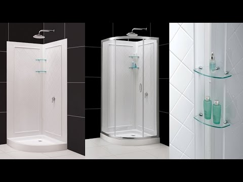 DreamLine DL-6157-01CL Solo Frameless Sliding Shower Enclosure and ...