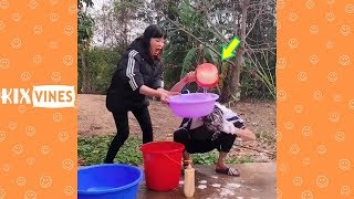 Funny videos 2019 ✦ Funny pranks try not to laugh challenge P58