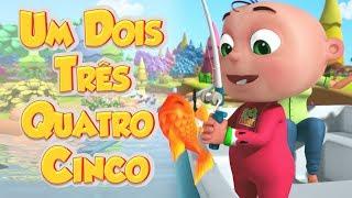 Um Dois Três Quatro Cinco I Canção dos Números I Canções Infantis I Videogyan Português