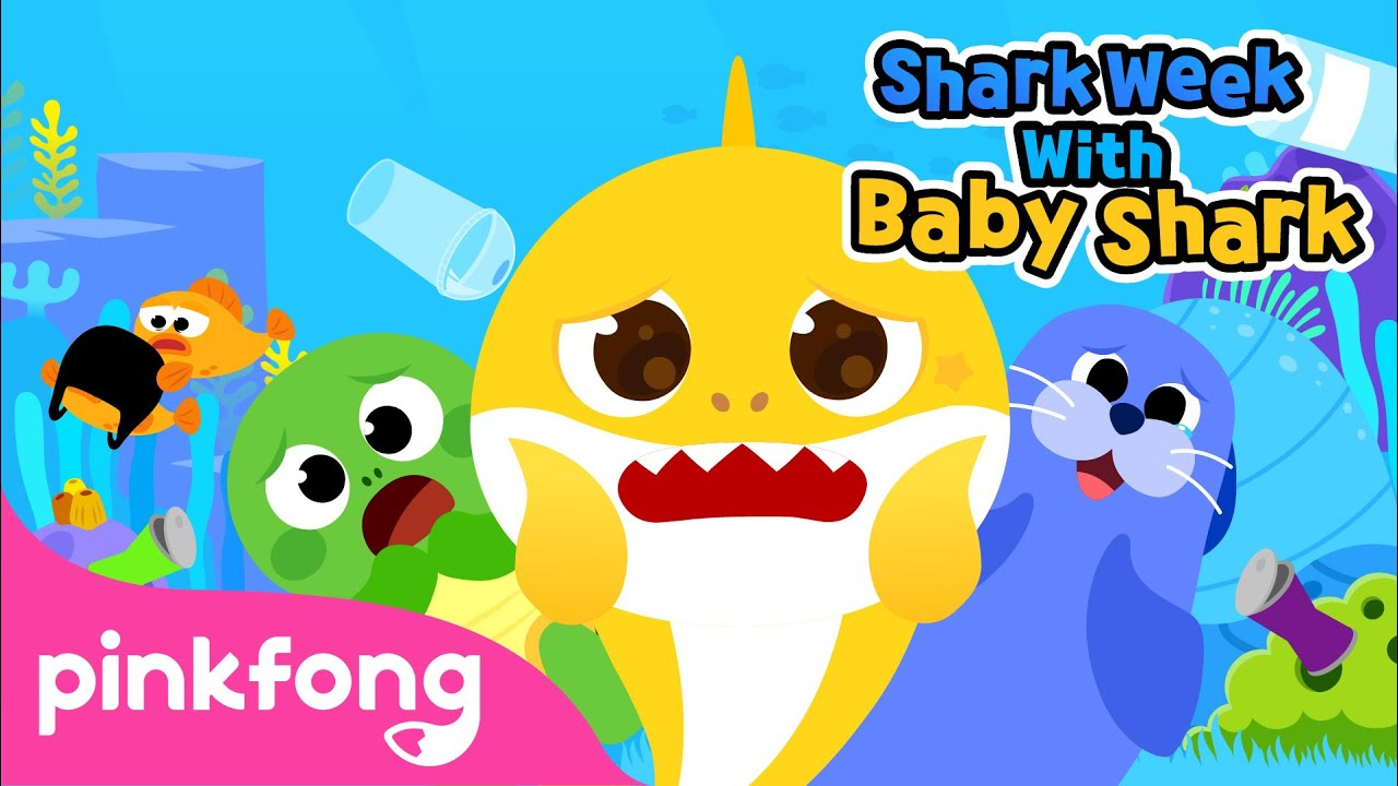 Save the Sea Animals with Baby Shark | Shark Week with Baby Shark | Pinkfong Songs for Children