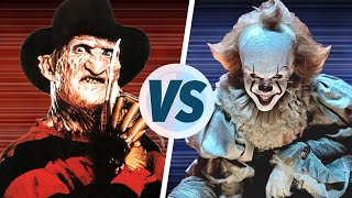 Download lagu Freddy Krueger vs Pennywise