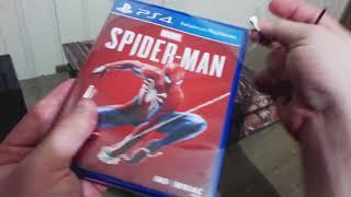 Caixista quando vê um jogo de PS4 especificamente SPIDER MAN