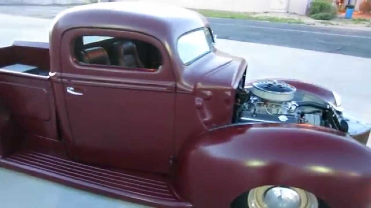 Truck 1940 chevy truck for sale : 1940 Ford Pickup chop top air bags custom 350ci V8 Chevy For Sale ...