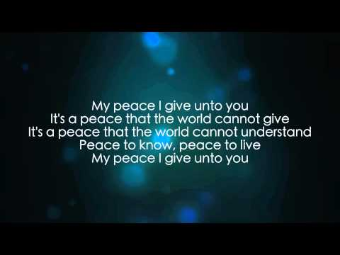 My Peace ( I Give Unto You ) Small Section AMC OLPS