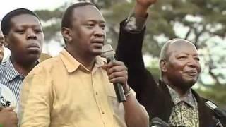 Uhuru Muranga rally
