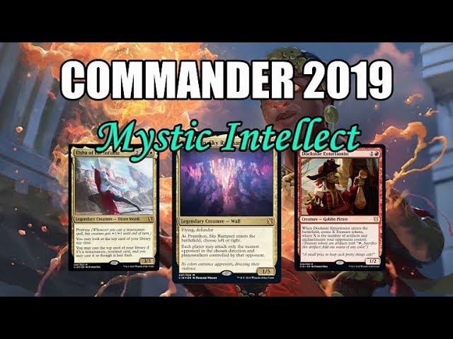 Commander 2019 Spoilers! Mystic Intellect Commander Options