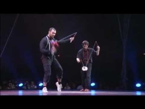 Eric Longequel & Antonin Hartz At The Festival  Mondial Du Cirque De Demain