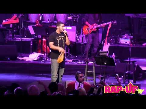 Drake Shares the Stage with Stevie Wonder at House Full of Toys
