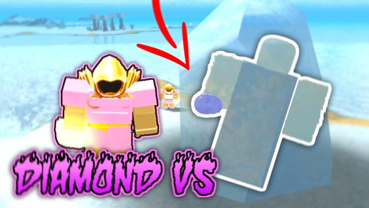 Killing The Giant With Pink Diamond Armor Roblox Booga