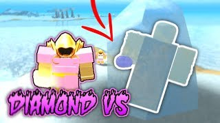 KILLING THE GIANT WITH PINK DIAMOND ARMOR!! (Roblox Booga Booga)