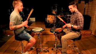 Обучение игре на барабанах. Drumchannel, 3-й урок