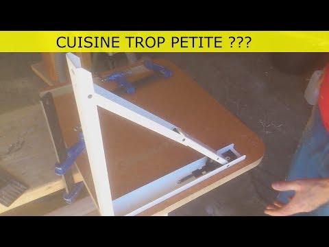 PETITE TABLE PLIANTE POUR MINI CUISINE
