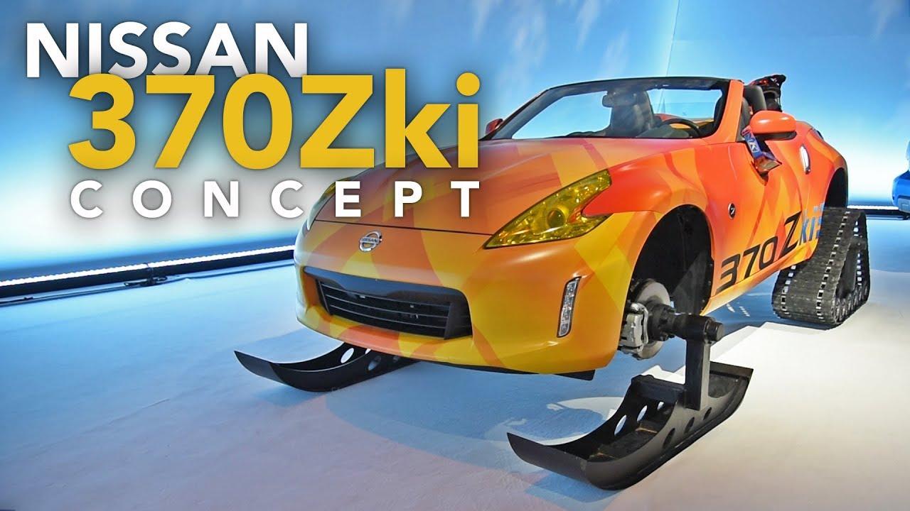 Nissan 370Zki & Armada Snow Patrol Concept Cars - 2018 Chicago Auto Show - Dauer: 2 Minuten, 47 Sekunden