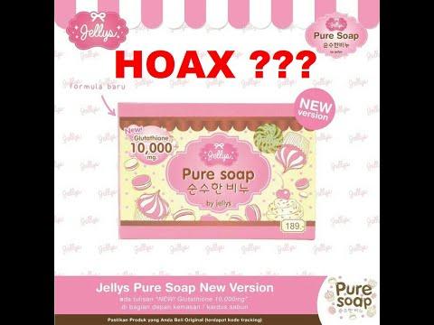HEBOH !!! Review Pembuktian Setelah Memakai Sabun Pemutih Pure Soap Thailand !!!