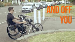 STRICKER HYBRID Handcycle - Push Mobility