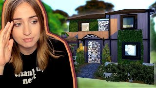 Building a House...Using Objects I Hate (The Sims 4)
