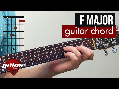 how-to-play-the-f-major-chord-|-beginner-guitar-lesson