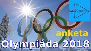 OLYMPIÁDA 2018 | anketa
