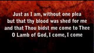 Just as I am worship video ( modern)