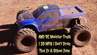 Awesome Must Have Truck | Distianert 4WD RC Monster Truck | 30 MPH