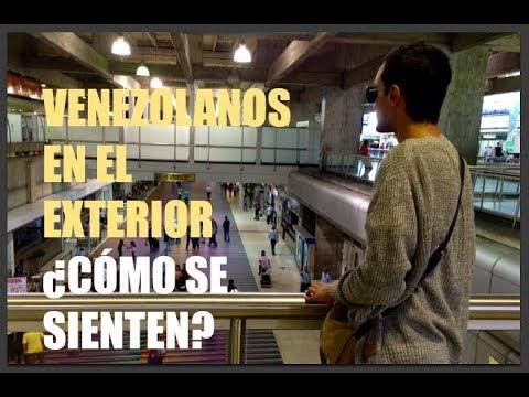 Venezolanos en el exterior c mo se sienten for Venezolanos en el exterior