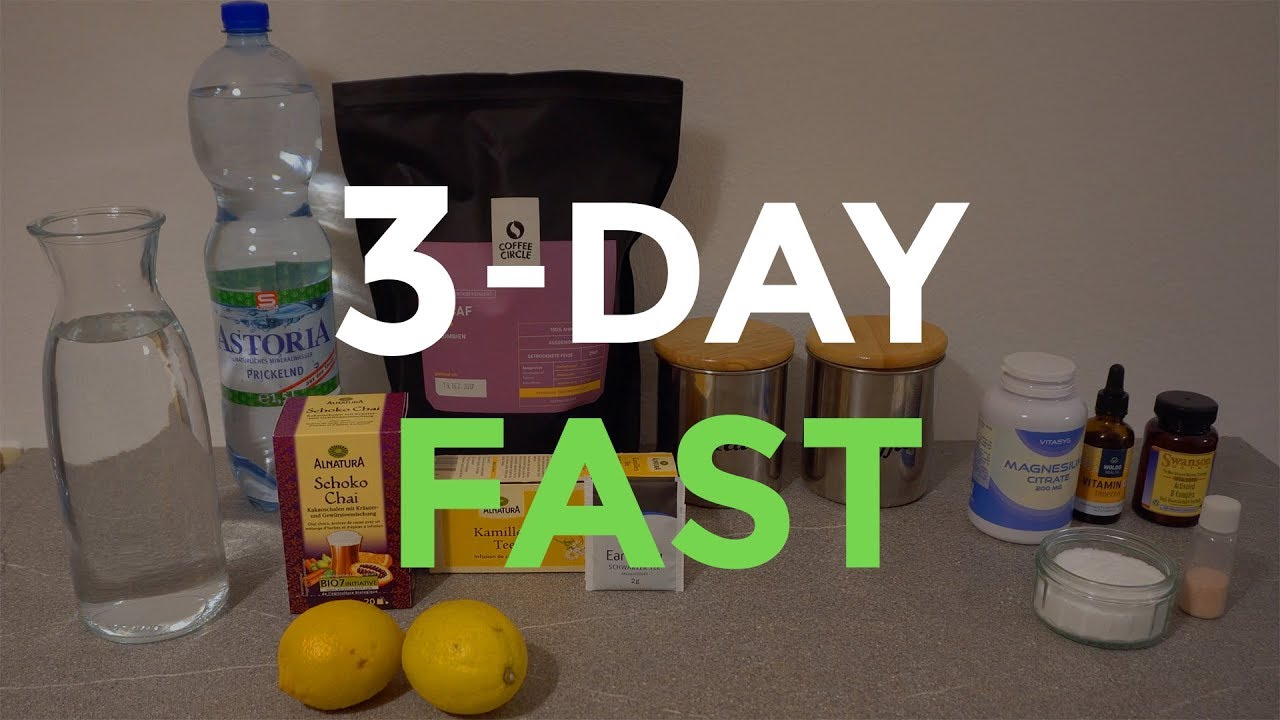 Fasting for 72 Hours | Working Out Fasted | My Fasting Staples