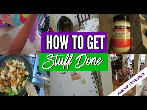 Easy Life Hack To Get Stuff Done As A BUSY MOM   Be More Productive