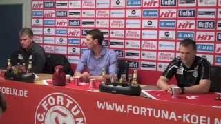 FortunaTV - Die Pressekonferenz nach dem Remis gegen Preußen Münster