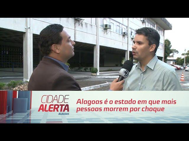 Alagoas é o estado em que mais pessoas morrem por choque elétrico no nordeste