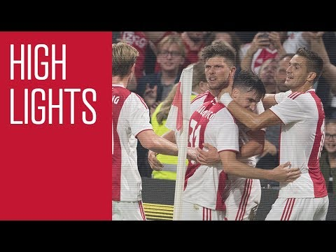Highlights Ajax - Standard Luik (Champions League)