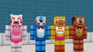FNAF vs Mobs: Top 5 Operations - Minecraft Animation
