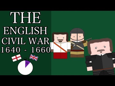 Ten Minute English and British History #20 - The English Civil War