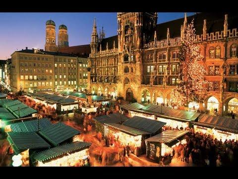 Munich Christmas market-Münchner Christkindlmarkt.
