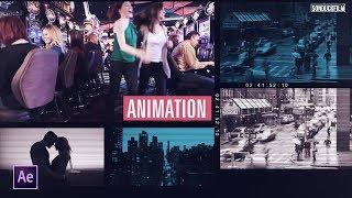 إنشاء الفيديو متعددة الشرائح | After Effects Tutorial