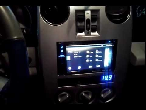 clarion vx404 double din pt cruiser install youtube. Black Bedroom Furniture Sets. Home Design Ideas