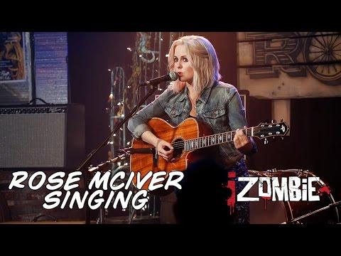 Rose McIver singing