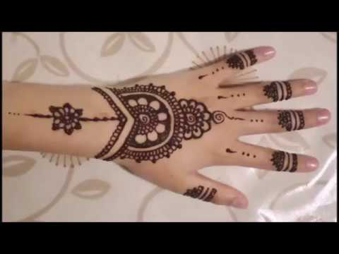 Pakistani Mehndi Designs For Front Hand 2017 Video Mehndi Designs